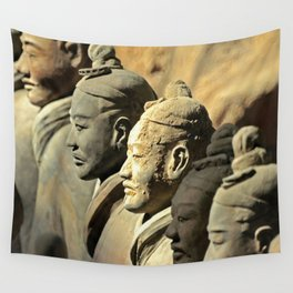 Chinese Terracotta Warriors Wall Tapestry