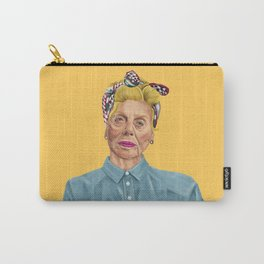 The Israeli Hipster leaders - Shulamit Aloni Carry-All Pouch
