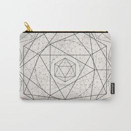 Icosahedron Mandala Carry-All Pouch