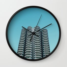 Wilco towers Wall Clock