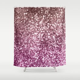 Sparkling BLACKBERRY CHAMPAGNE Lady Glitter #1 #decor #art #society6 Shower Curtain