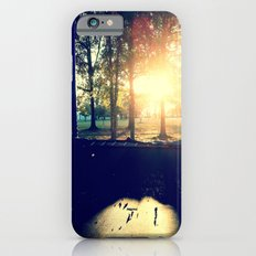 Backyard Sunset iPhone 6 Slim Case
