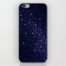 Starry Night Sky iPhone Skin