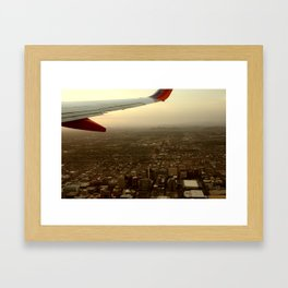 LA Framed Art Print