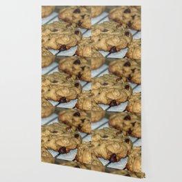 Orange Chocolate Chip Cookies Wallpaper