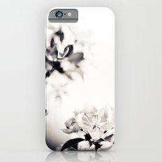 Black and White Flowers 2 Slim Case iPhone 6s