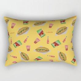Lunch  Rectangular Pillow
