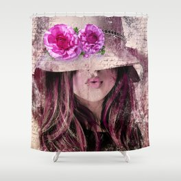 Sassy Girl Shower Curtain