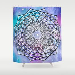 Sacred Geometry: Big Bang Shower Curtain