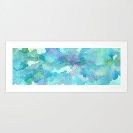 Breathing Under Water Art Print