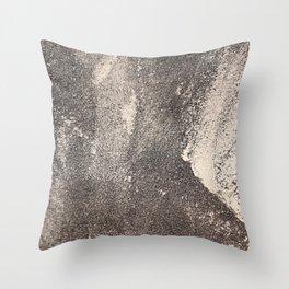 Sandpaper Attrition Rubbing Texture Throw Pillow