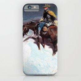 The Vidette-Custer Trooper - William Herbert Dunton iPhone Case