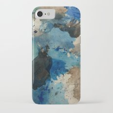 Secret Mediterranean Beach iPhone 7 Slim Case
