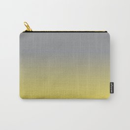 Ombre   Color Gradients   Gradient   Ultimate Gray   Illuminating   Pantone Colors of the Year 2021   Carry-All Pouch
