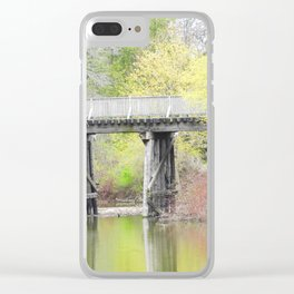 Soft Colours of Spring Reflected Clear iPhone Case