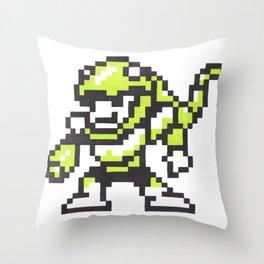 snake man Throw Pillow