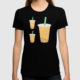Passion Fruit Bubble Tea Pattern T-shirt