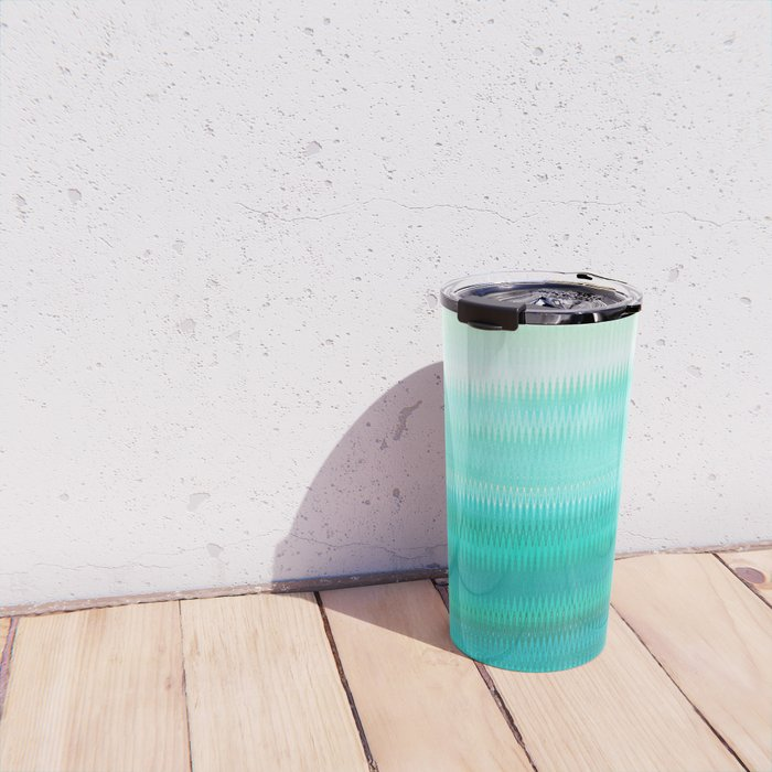 Green Mirage Travel Mug