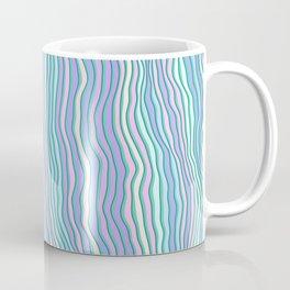 Noisy colorful stripes Coffee Mug