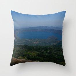 Coatepeque Lake Throw Pillow