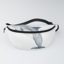 Bottlenose dolphin jumping Fanny Pack