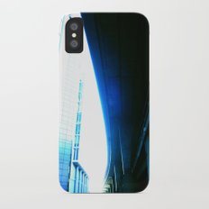 fly over london iPhone X Slim Case