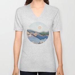 Rolling Mountains Unisex V-Neck