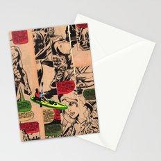 Caiaque Prateado Stationery Cards