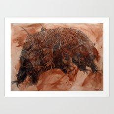 Tardigrade Art Print