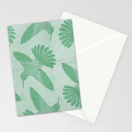 Hummingbird Pattern Stationery Cards
