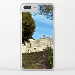 Abbey in south-west of France Clear iPhone Case