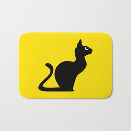Angry Animals: Cat Bath Mat