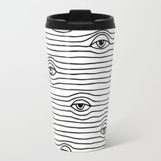PEEPING TOM [BLK & WHT] Travel Mug