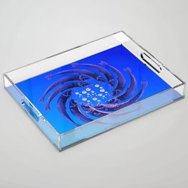 Fishes Dancing Acrylic Tray