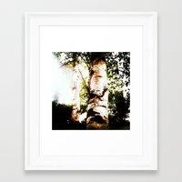 birch Framed Art Prints featuring birch by Eva Lesko