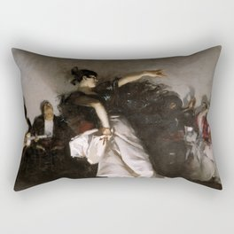 El Jaleo (Spanish Dancer) - John Singer Sargent Rectangular Pillow
