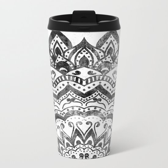 ORION JEWEL MANDALA Metal Travel Mug