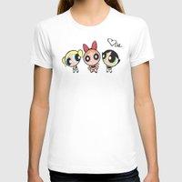 powerpuff girls T-shirts featuring Powerpuff Girls by Mind of Bae