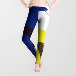 Oracles (Ancient China Words): TWO FISH MEET Leggings