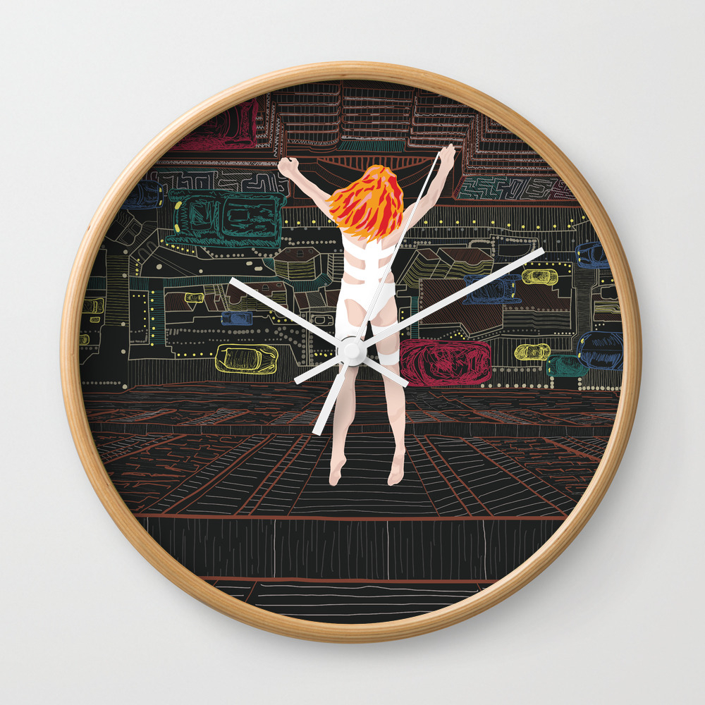 Leeloo - The Fifth Element Wall Clock by Munamia CLK7742859