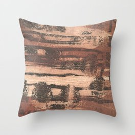 Printmaking 8 Throw Pillow