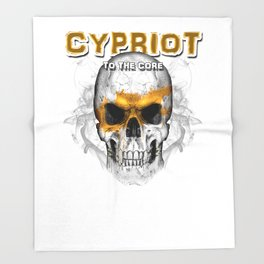 To The Core Collection: Cyprus Throw Blanket