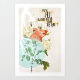 The Vacuum of Its Beauty Art Print