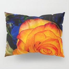 Blue Nights & Orange Skies Pillow Sham