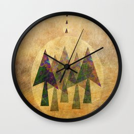 Pineal Wall Clock