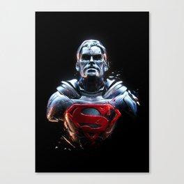 Man Of Steel 1 Canvas Print