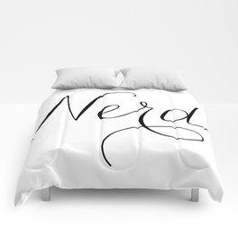 nerd. Comforters