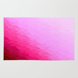 Pink Texture Ombre Rug