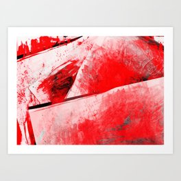Bloody Mary - Abstract Digital Art Art Print
