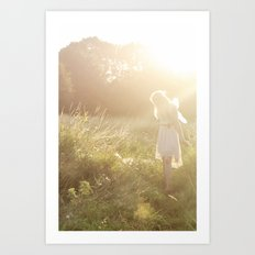 Meadow Fairy Art Print